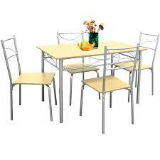 Table Cuisine A Rallonge Petite Rectangulaire Somum De En Bois Avec