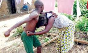 Image result for man bites woman in lagos