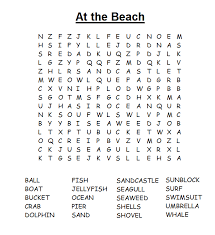 Small Picture Summer Coloring Pages And Word Searches Coloring Pages