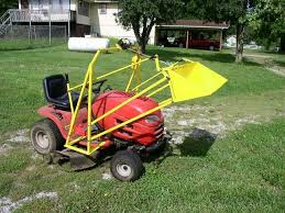 craftsman lawn tractor attachments. subscribe and watch please :) custom craftsman lawn mower garden tractor front end loader bucket attachments