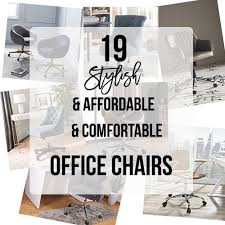 Stylish office Modern 19 Stylish Office Chairs That Are Comfortable And Affordable Anikas Diy Life Anikas Diy Life 19 Stylish Office Chairs That Are Comfortable And Affordable