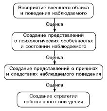 Структура и механизмы социальной перцепции Реферат Процесс социальной перцепции