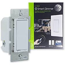 ge 45613 ge wave 3. GE Z-Wave Plus Wireless Smart Lighting Control Dimmer Switch, In-Wall, Full Range Dimming, Includes White \u0026 Light Almond Paddles, Hub Required, 14294, Ge 45613 Wave 3