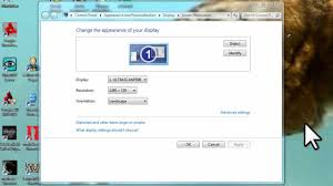 how to reduce screen size windows 7 adjust screen resolution refresh rate and icon size