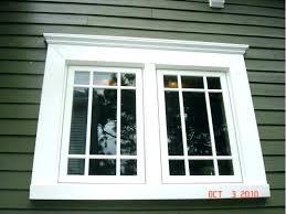 craftsman exterior window trim.  Exterior Exterior Wood Window Trim For Craftsman Exterior Window Trim Y