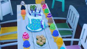 Fortnite Birthday Cake At Josie Simblr Sims 4 Updates