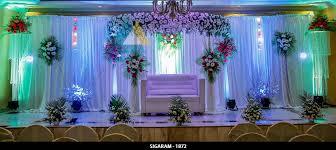 Reception Decoration at Surguru Hotel Pondicherry ...