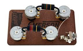 emerson custom sc long shaft prewired kit