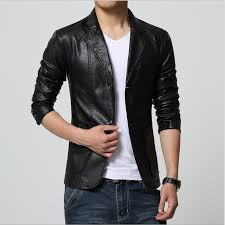 plus size m 7xl spring autumn men washing pu leather motorcycle jackets for male coat color khaki brown black white red