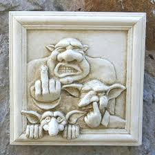 exterior wall plaques uk trong