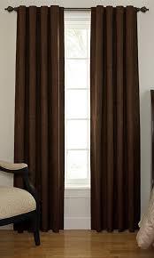 sound asleep 63 inch room darkening noise reducing backtab window panel chocolate