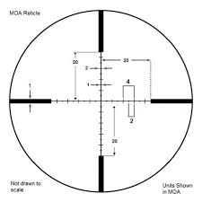 4 16x50mm Level Rifle Scope By Barska Barska Com