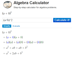 algebra solving tool that gives