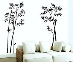 Wall Stickers For Living Room Large Wall Decals For Living Room Large  Removable Living Room Bedroom Backdrop Black Bamboo Mural