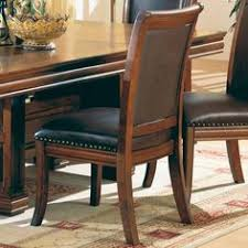 amazon set of 2 old west style solid wood dining chairs w