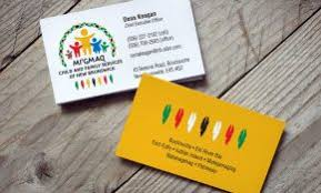 Talking Points Template Word Graphy Business Card