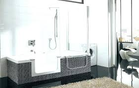 walk in bathtubs reviews awesome twin line bathtub and shower combo for 11