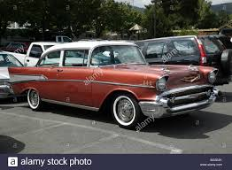 Classic 1950's second generation Chevrolet Bel Air Sport Sedan at ...
