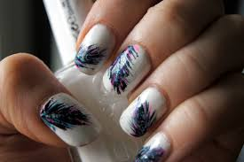 Creative Feather Marvelous Feather Nail Art - Nail Arts and Nail ...