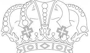 Disegno Di Principessa Con Corona Da Colorare Disegni Da Colorare