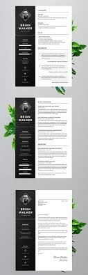 37 Cool Adobe Illustrator Resume Template By Gallery