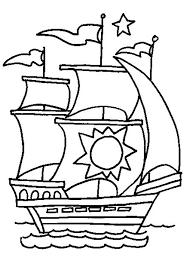 Kleurplaat Schip Kopen Zippytoys