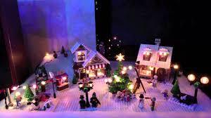Lego Winter Village Lights Seasons Greetings From Lego Christmas Village