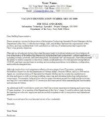 Federal Resume Cover Letter Examples 8 Best Federal Resume Writers