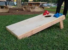 Wooden Bean Bag Toss Game HowTo Build a Bean Bag Toss Board 11