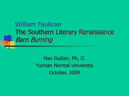 tips for writing an effective barn burning william faulkner essay being an adult abner is both more aware of what he feels to be an undeserved disparency between classes and more direct in expressing his anger about it