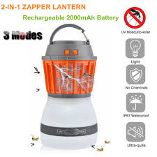 Bug Free Camping Lights Details About Portable Usb Rechargeable Led Camping Lantern Bug Mosquito Zapper Killer Light