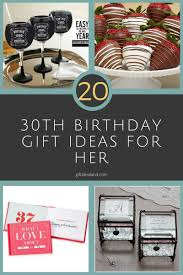 gift ideas for 30th birthday female 8