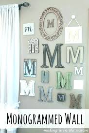 kitchen letters for wall marvelous wood monogram letters for wall initial wall decor painted wood monogram