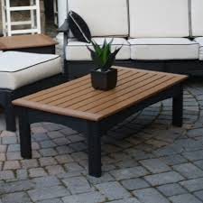 Poly Lumber POLYWOOD Coffee Tables - Coffee table with chair