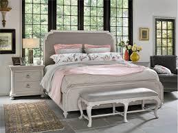 piece emmaline upholstered panel bedroom: universal furniture  piece elan upholstered bedroom set sale