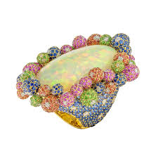 margot mckinney australian opal ring