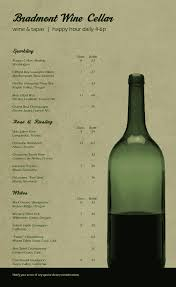 Wine Border Template Wine List Templates That Are Easy To Edit Musthavemenus