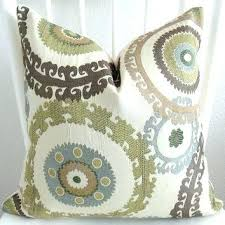 blue and green throw pillows. Blue And Green Throw Pillows Decorative Pillow Cover Cream Light Taupe Brown Covers Sage Pill H