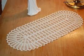 Free Crochet Table Runner Patterns Simple Easy Crochet Table Runner Free To Print Crochet Table Runner