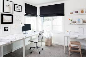 home office picture. Eggshell Home_Rosanna Bassford_0995_Black And White Home Office Picture
