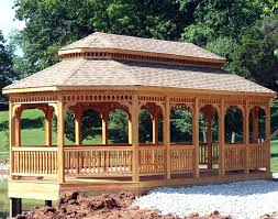 deck roof ideas. 6 Sided Gazebo Plans Adorable Concept Ideas Enclosed Design Deck With Roof Best