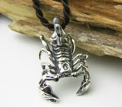 one of a kind personality design thai silver jewelry vine pendant 925 sterling silver scorpion pendant