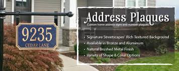 home address plaques. Custom Address Plaques Home