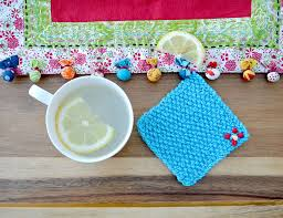 Knit Coaster Pattern Awesome Decorating Ideas