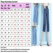 Seven7 Jeans Size Chart Details About New Women Casual Seven Leg Wide Leg Jeans Stretch High Rise Straight Denim Pants
