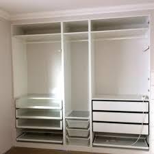 ikea wardrobe lighting. Pax Wardrobe Bedroom Ideas Pinterest Bedrooms Closet Door Hack Review Depth Fa B E Full Size Ikea Lighting