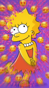 Iphone Simpsons Happy Aesthetic Wallpaper