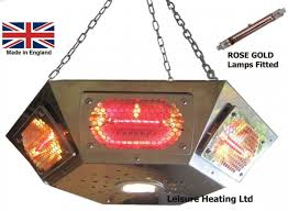 Pendant Gazebo Heater With Light Infra Red Pendant Gazebo Heater Low Glare Leisure Heating
