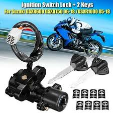 motorcycle lgnition switch with 2 lock