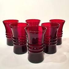 anchor hocking stemless wine glass set drinking glasses on